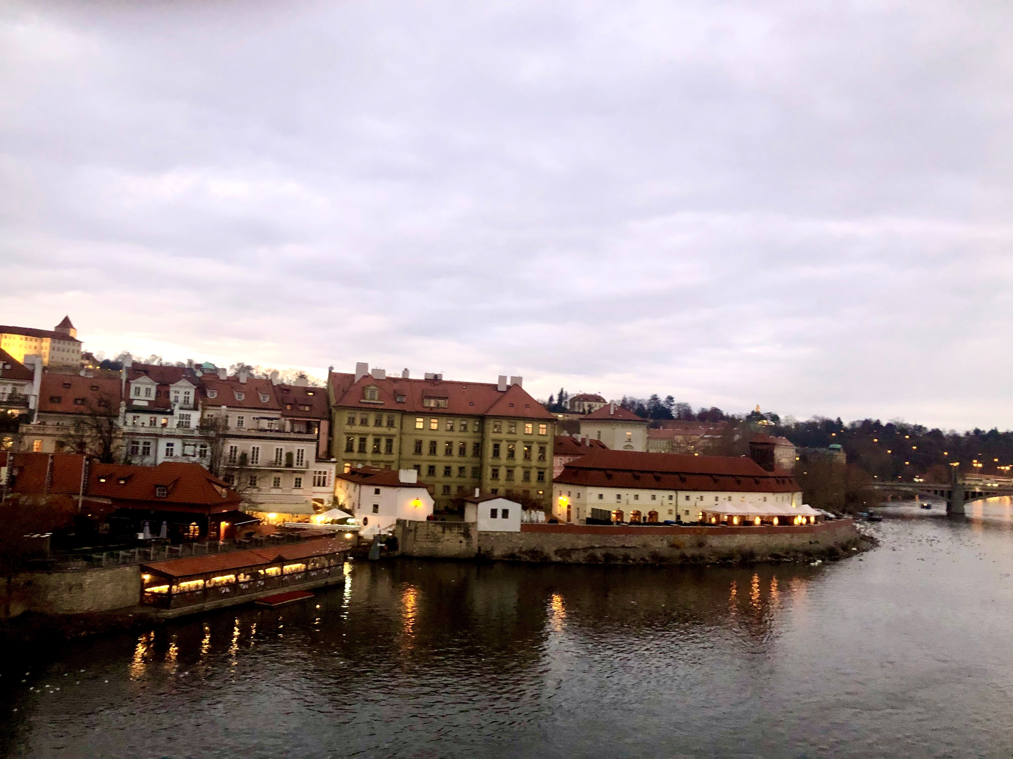 Prague in winter: it' s only cold if you stand still
