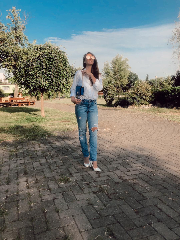 Cămașa albă: trei sugestii de ținute