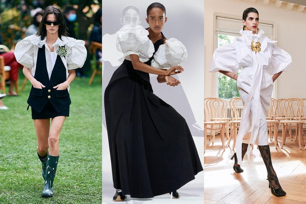 Tendințe în modă 2021: volum,plasă si pasteluri